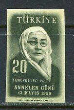 30879) Turkey 1956 MNH Zubeyde Hanum 1v. Scott #1207 Imperf