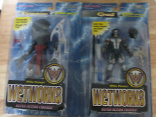 Lot of Two Whilce Portacio's Wetworks Grail and Vampire Action Figures