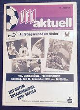 II BL 91/92 VfL Osnabrück - FC Remscheid, 15.12.1991