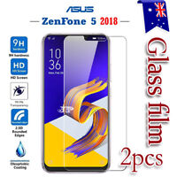 2x ASUS Zenfone 5 ZE620KL Tempered Glass / Plastic Screen Protector Film Guard