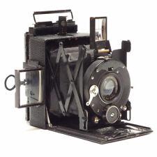 Fine Adams Vesta Vest Pocket 6x4.5 cm Folding Plate Bellows Camera circa 1915