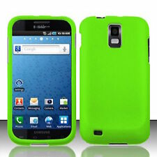 Green Rubberized HARD Case Phone Cover T-Mobile Samsung Galaxy S II 2 S2 T989