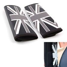 New listing Auto Uk Union Jack Flag British Seat Belt Cover Pads Shoulder Seatbelt Cushion(Fits: Mini)