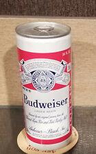 1973 Williamsburg Aluminum Bottom Open 16 Ounce Budweiser Beer Can 9 City