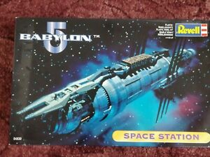 Babylon 5 Space Station Model by Revell boxed