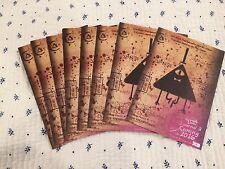 NYCC 2015 Gravity Falls Journal Postcard  Disney XD