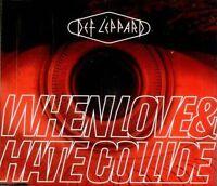 Def Leppard When love & hate collide (plus 'Rocket [Remix, 7:06min.].. [Maxi-CD]