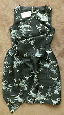 Ted Baker Ladies MAELI The Orient Tulip Bow Dress RRP £249 Navy UK 3 Size 12
