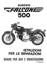 CD MANUALE OFFICINA RIPARAZIONE+USO MANUTENZIONE MOTO GUZZI NUOVO FALCONE 500-1E