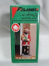 1988 Flambro The Emmett Kelly Jr Signature Collection Porcelain Christmas 9653