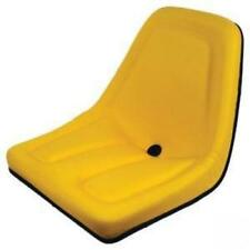 Deluxe Mower Tractor Seat for John Deere, Kubota Michigan Style High Back Yellow