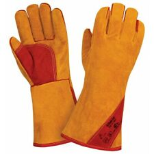 Gloves For The Welder From The Skin Of A Buffalo Siberia K Evlar Thread1pairs