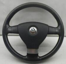 VW Golf V 1K Lenkrad  1Q0419091F 3 Speichen Lederlenkrad mit roten Nähten