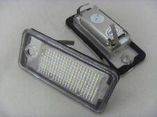 2x matrícula luces 3528smd 18 LED AUDI a3 8p hb a4 b6 b7 a6 c6 a8 q7 nuevo R + L