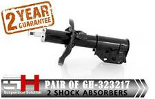 2 FRONT SHOCK ABSORBERS MAZDA 323 (BJ) 00-03, PREMACY (CP) 01-05 / GH-323217 /