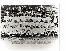 1916 BOSTON RED SOX 8X10 TEAM PHOTO  RUTH MAYS FOSTER  BASEBALL FENWAY