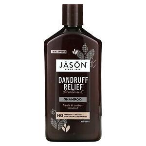 Jason Natural Treatment Shampoo Dandruff Relief 12 fl oz 355 ml Leaping Bunny,