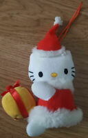 """Hello Kitty Vibrate Wind Up Teddy Bear Soft Toy Vintage 5"""" inch"""