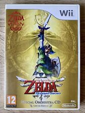 The Legend Of Zelda Skyward Sword Nintendo Wii Completo PAL España