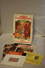 Advanced D&D Hillsfar SSI Commodore 64/128 Boxed with poster A D & D