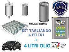 KIT TAGLIANDO 4 FILTRI + 4 LT OLIO LANCIA DELTA III - MUSA 1.6 Multijet Diesel
