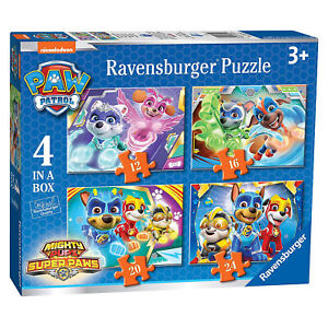Ravensburger 3029 Paw Patrol Mighty Pups 4 in Box Jigsaw Puzzles