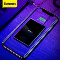 Baseus 15W Qi Wireless Charger Ultra Thin Charging Pad Mat for iPhone Samsung LG