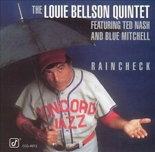 Louie Bellson - Raincheck (CD, Jul-2004, Concord Jazz) New and sealed