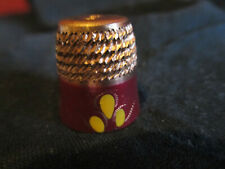Fingerhut - Thimble - dé à coudre - EMAILLE    CHINA