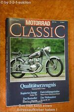 Motorrad Classic 4/90 Victoria Puch S4 Honda RC 163 Guz