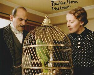"Pauline Moran in person signed 10"" x 8"" photograph - Poirot - Miss Lemon - K463"