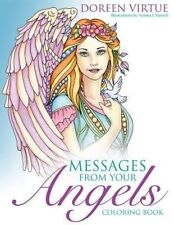 Messages From Your Angels Coloring Book by Doreen Virtue 9781401952037