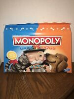 Monopoly Cats Vs. Dogs Board Game Hasbro Gaming NEW Still Sealed Ages 8+ E5793