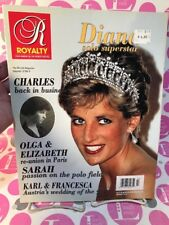 Royalty Magazine Volume 12 No. 3 1993 - DIANA SOLO SUPERSTAR - L/N NEAR MINT!