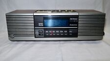 Vintage GE General Electric AM/FM Stereo Blue Digital Dual Clock Radio 7-4945A