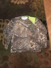 Two Under Armour Scent Control Lightweight Hunting Longsleeve Shirts-L