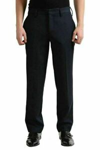 Versace Jeans Men's Dark Gray Wool Casual Pants US 32 IT 48