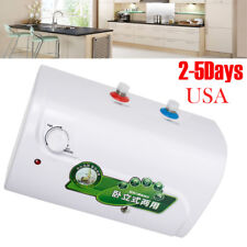 8L tank Electric Hot Water Heater Bathroom Kitchen 30℃~65℃ 1500w USA SHIP