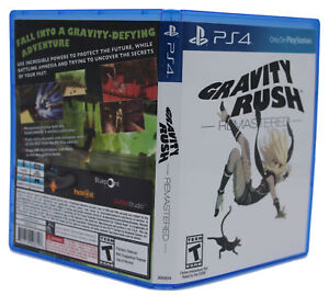 Gravity Rush Remastered PS4 PlayStation 4 Replacement Case & Cover Art (NO GAME)