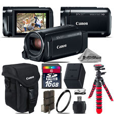 Canon VIXIA HF R 800 57x Live Streaming Camcorder + Case + 16GB - Starter Bundle
