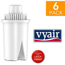 6 x Replacement Refill Water Filter Cartridges for Laica Classic, Multi-flux