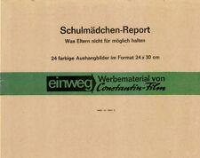 Schulmädchen-Report 1. Teil ORIGINAL Umschlag des deutschen Erotik-Klassikers