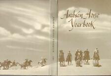 RARE 1981 THE ARABIAN HORSE ASSOCIATION YEARBOOK VOLUME XXVlll HARD COVER VGC