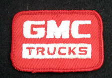 GMC TRUCKS EMBROIDERED SEW ON ONLY PATCH AUTOMOBILE UNIFORM ADVERTISING 3 x 2