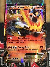 Pokemon Emboar EX 14/122XY Breakpoint Ultra Rare Holo NM