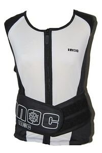 Inoc Adults Back / Spine Protector Vest Sizes S - XL Skiing Snowboard Motorcycle