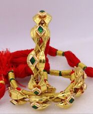 Cuff Bracelet Bangle Bahmadliya cuff01 Vintage Traditional Antique 22K Gold