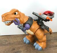 "Fisher-Price Imaginext Mega T-Rex Roaring Motorized Moving 17"" Dinosaur 2011"