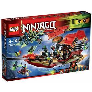 LEGO® 70738 Ninjago® Der letzte Flug des Ninja-Flugseglers NEU+OVP+Ungeöffnet!!!