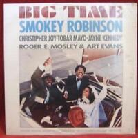SMOKEY ROBINSON Big Time OST Soundtrack Lp Vinyl Record Album SEALED